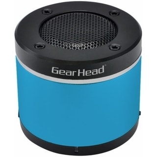 Gear Head BT3000BLU Speaker System - Wireless Speaker(s) - Blue