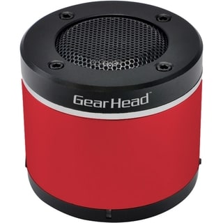 Gear Head BT3000RED Speaker System - Wireless Speaker(s) - Red
