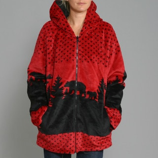 Black Mountain Women's 'Moose' Reversible Jacket