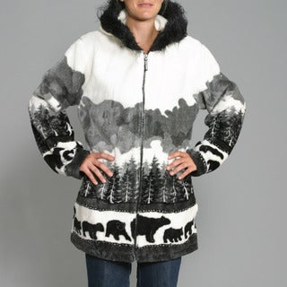 Black Mountain Women's 'Bears Crossing' Hooded Jacket