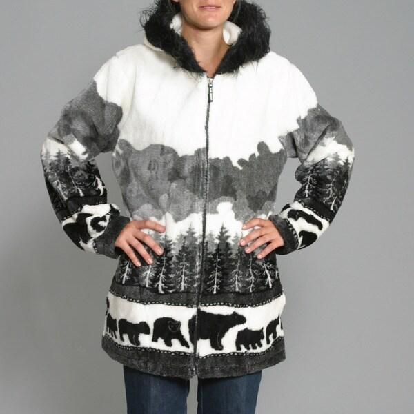 Black Mountain Women's 'Bears Crossing' Hooded Jacket