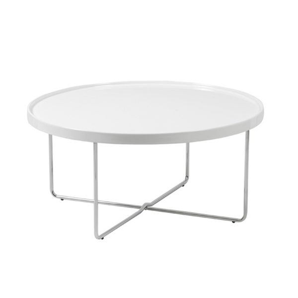 Ozzie White Coffee Table