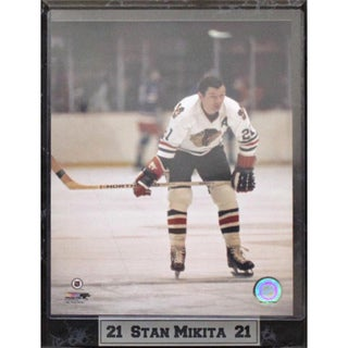 Chicago Blackhawks Stan Mikita Legend Photo Plaque (9x12)
