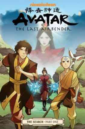Avatar: The Last Airbender 1: The Search (Paperback)