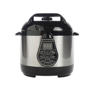 Cooks Essentials 2qt Digital Stainless Steel Pressure Cooker