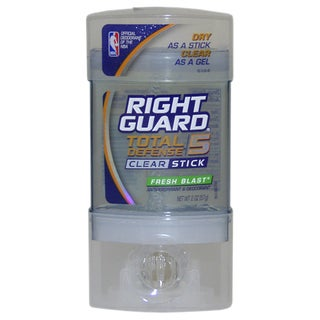 Right Guard Total Defense 5 Clear Fresh Blast Deodorant Stick