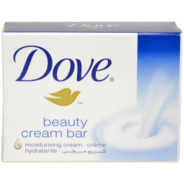 Dove White Moisturizing Cream 3.5-ounce Beauty Bar