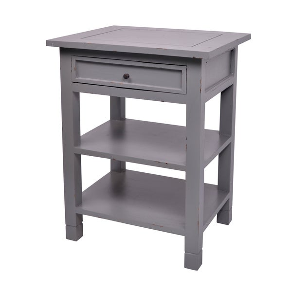 Decorative Grey Newton Casual Mahogany Side Table