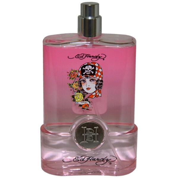 Ed Hardy Born Wild Women's 3.4-ounce Eau de Perfume Spray (Tester)