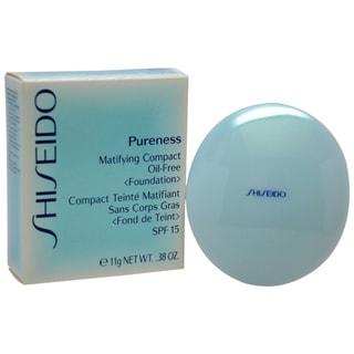 Shiseido Pureness 50 Deep Ivory Matifying Oil-free Foundation Compact