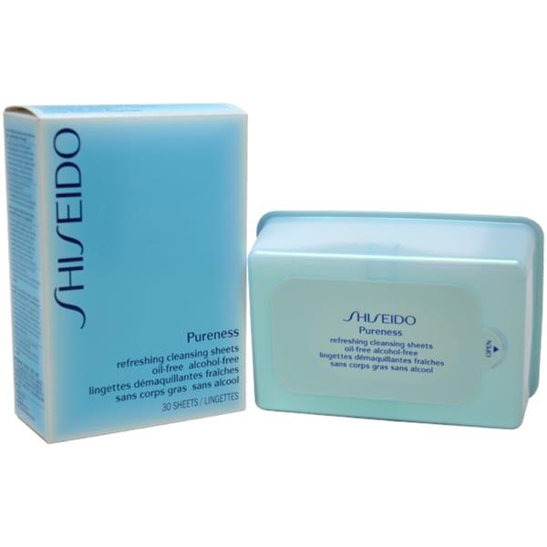 shiseido pureness refreshing cleansing sheets 30 sheets