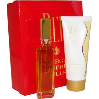 Giorgio Beverly Hills Red Women's 2-piece Gift Set