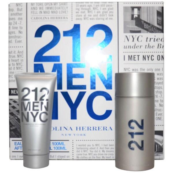 Carolina Herrera 212 Men NYC 2-piece Gift Set