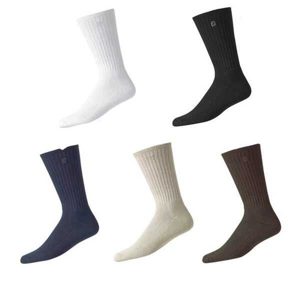 FootJoy Men's ComfortSoft Crew Golf Socks (Pack of 6) 10186992