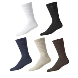 FootJoy Men's ComfortSoft Crew Golf Socks (Pack of 6)