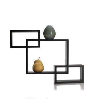 Mellannco S-3 Espresso Interlocking Shelves