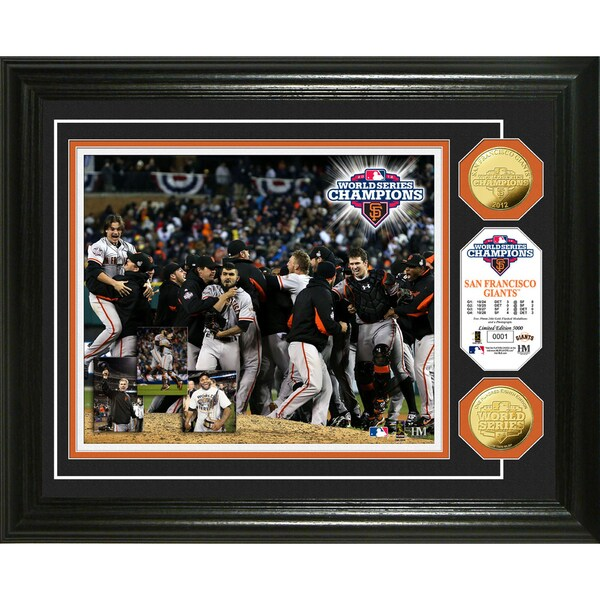 2012 World Series Champions Celebration Gold Coin Photo Mint