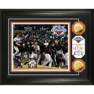 2012 World Series Champions Celebration Gold Coin Photo Mint