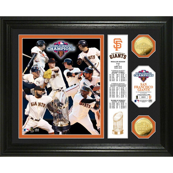 2012 World Series Champions Banner Photo Mint