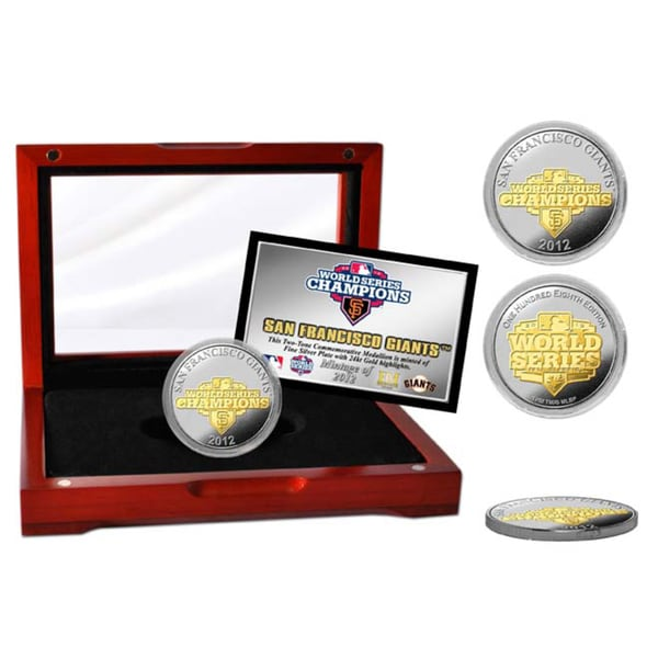 2012 World Series Champions Two-tone Coin