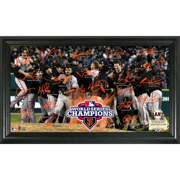 2012 World Series Champions Celebration Signature Field
