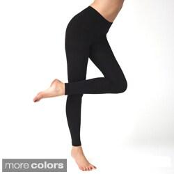 American Apparel Women's Plush Footless Tights