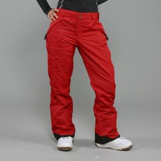 Pulse Women's 'Rider' Red Snowboard Pants