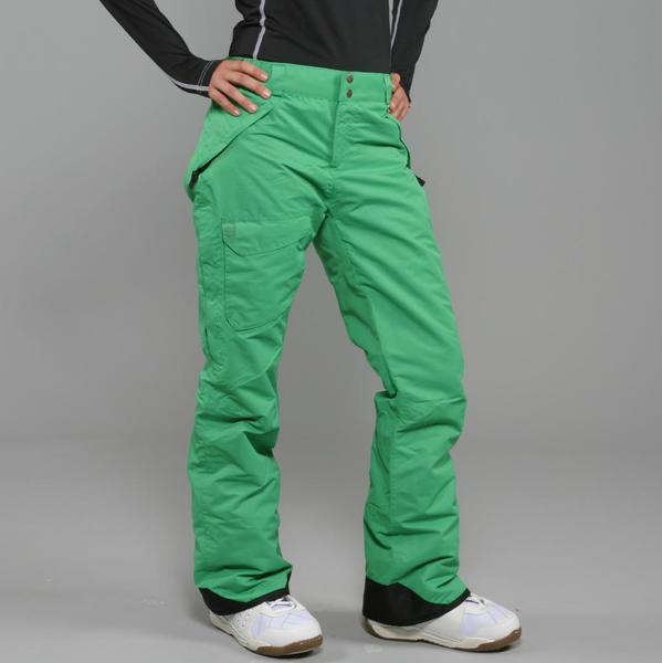 Pulse Women's 'Rider' Green Snowboard Pants