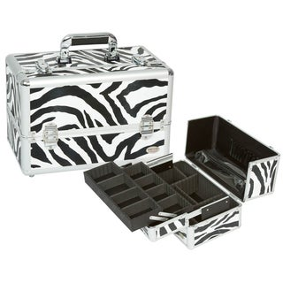 Seya Zebra Professional Makeup Case