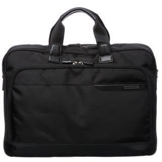 Johnston & Murphy 46-15531 Black 17-inch Slimline Briefcase