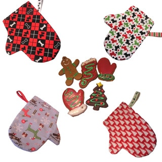 Organic Treat Filled Christmas Mittens