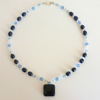 Every Morning Design Blue Jean Dream Necklace