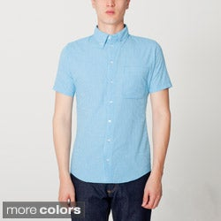 American Apparel Men's Button Down Shirt