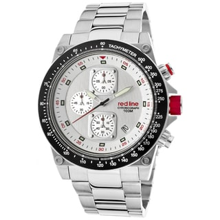 Red Line Men's 'Simulator' Stainless Steel Watch