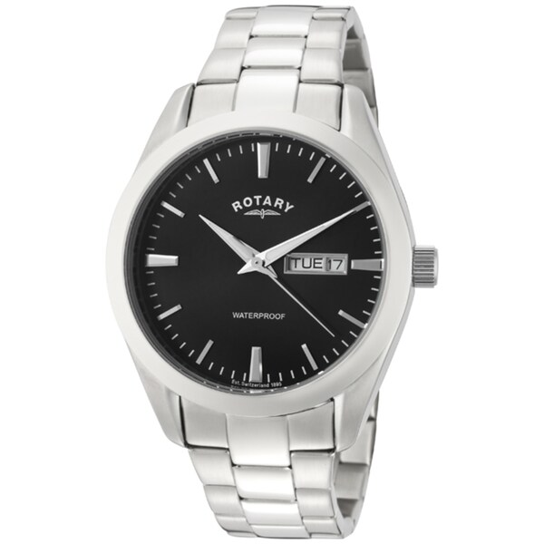 Rotary Men's Stainless Steel Watch