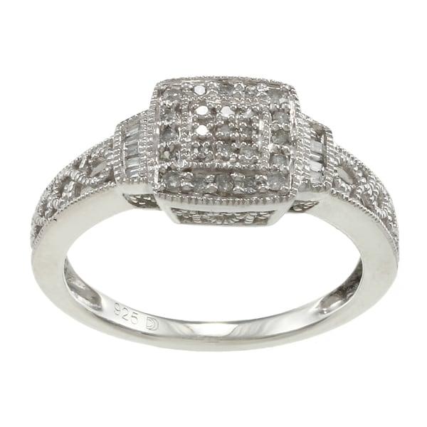 Sterling Silver 1/5ct TDW Diamond Promise Ring (H-I, I2-I3)