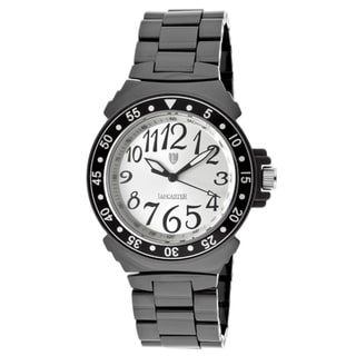 Lancaster Italy Women's Ceramik Black High-tech Ceramic Watch