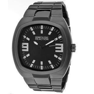 Kenneth Cole Reaction Men's Black Base Metal Watch
