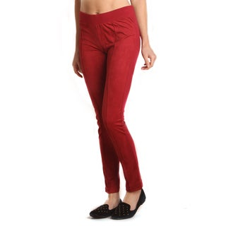 4Now Fashions Suede Rider Legging