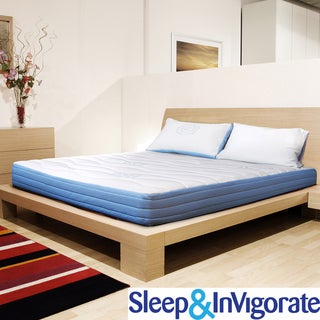 Sleep & Invigorate 8-inch Twin-size Latex and Foam Mattress