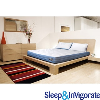 Sleep & Invigorate 10-inch Queen-size Latex and Foam Mattress