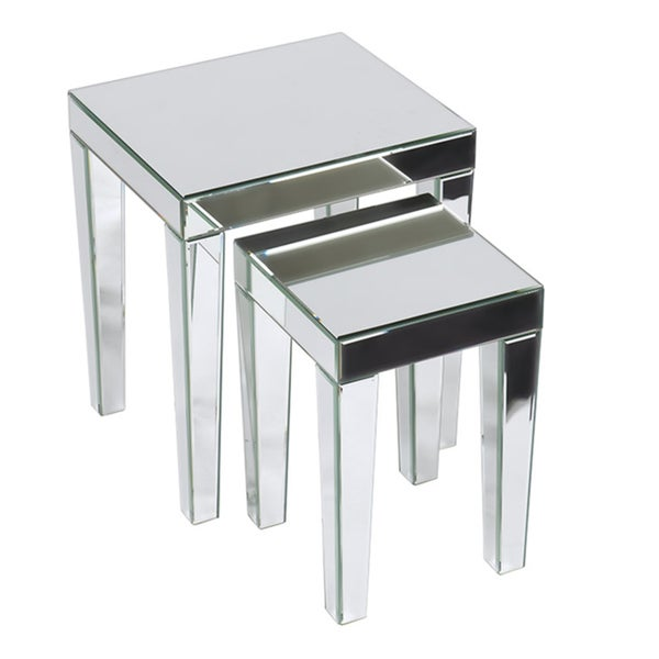 Ave Six Reflections 2-piece Nesting Table Set