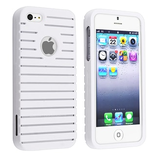 BasAcc White Parallax Snap-on Case for Apple iPhone 5