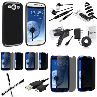 BasAcc Case/ Protector/ Charger/ Headset for Samsung Galaxy S III/ S3