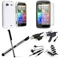 BasAcc Case/ Stylus/ Splitter/ Headset/ Protector for HTC Sensation 4G