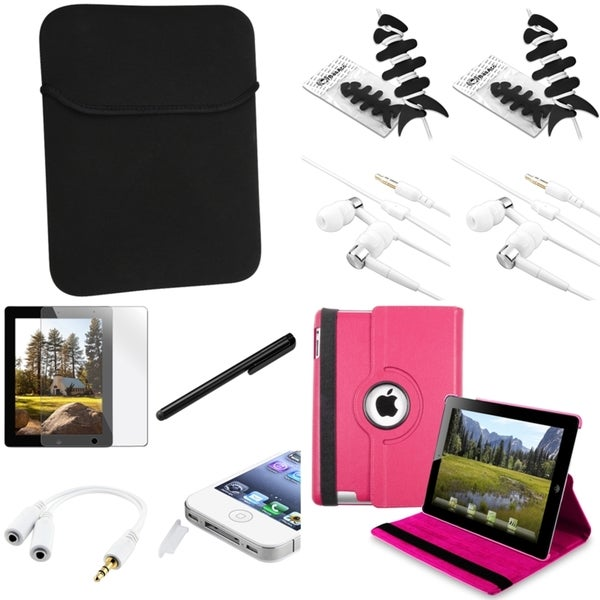 BasAcc Case/ Protector/ Splitter/ Headset/ Stylus for Apple iPad 2