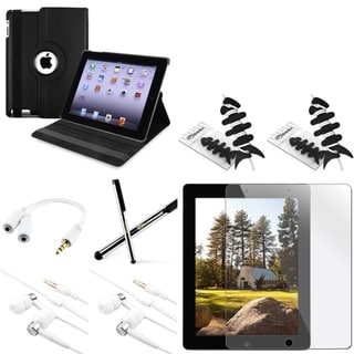 BasAcc Case/ Protector/ Headset/ Splitter/ Wrap for Apple iPad 2