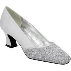 Women's Colorful Creations Audrey Silver Satin