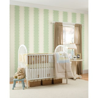 WallPops Ivory Stripe Bundle Vinyl Wall Art