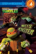 Mikey's Monster: Teenage Mutant Ninga Turtles (Hardcover)